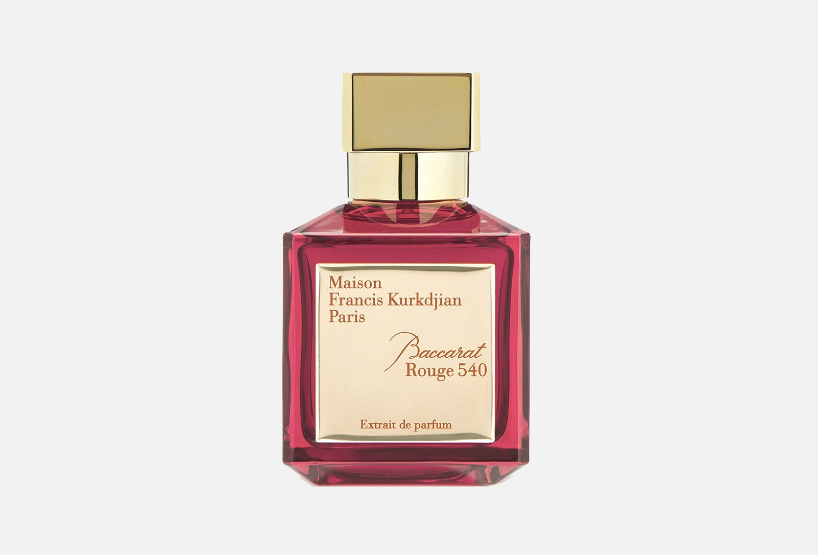 Baccarat Rouge 540 Maison Francis Kurkdjian 32 240 .