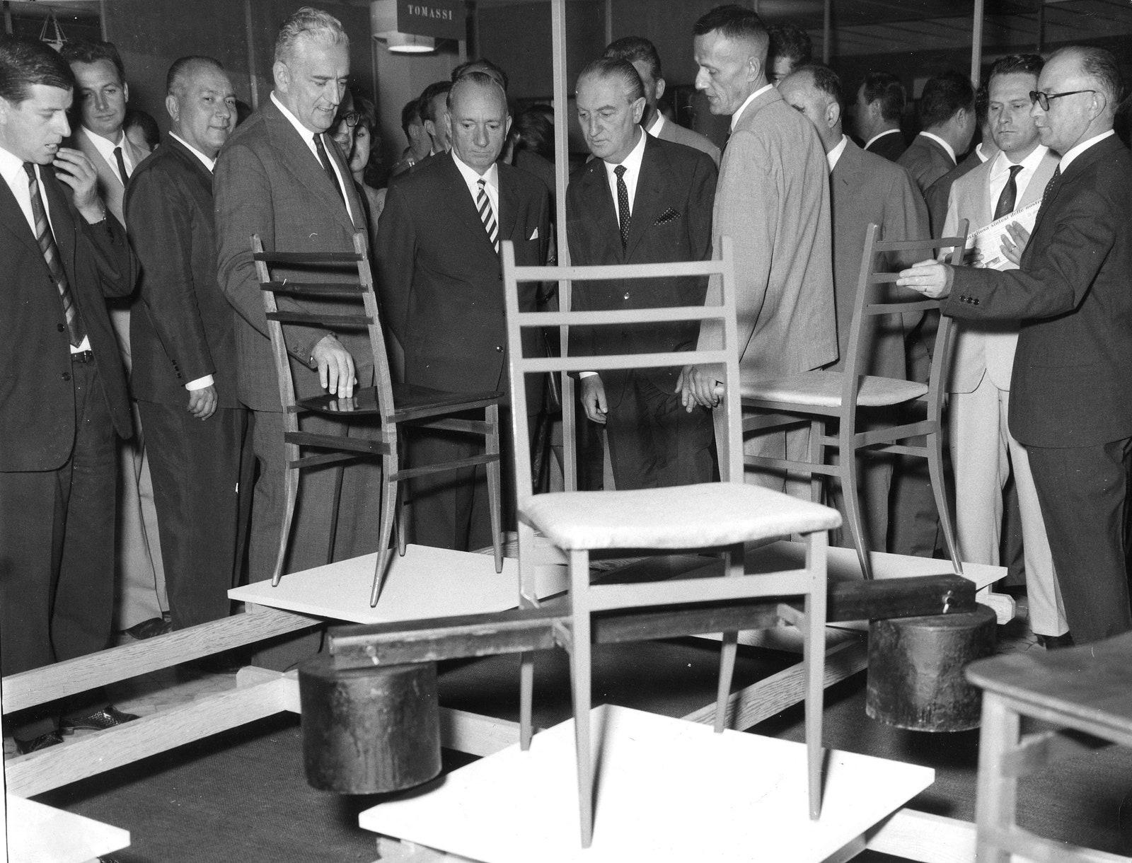 Salone del Mobile.  1961 .