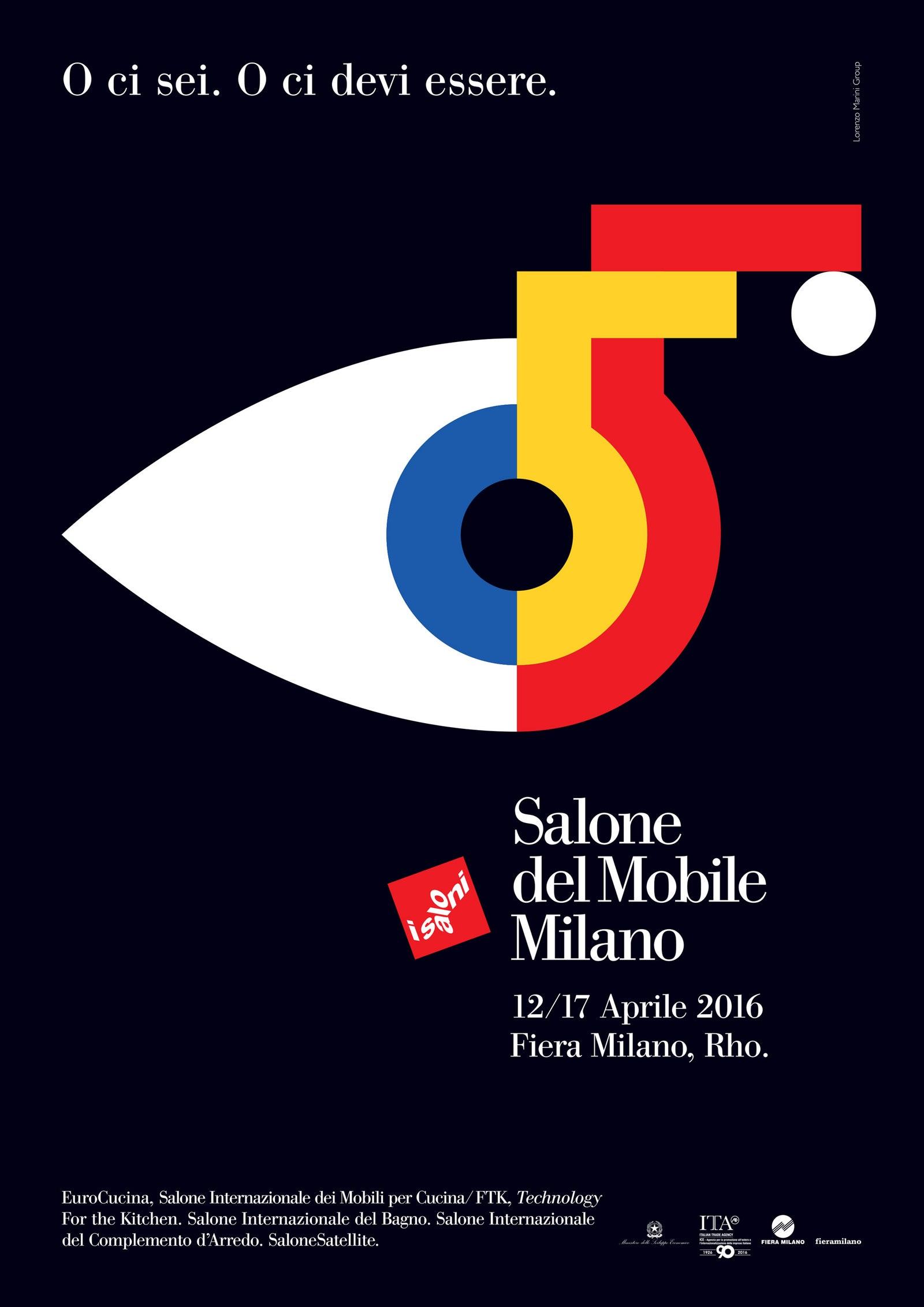 Salone del Mobile 2016 .