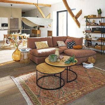 Где купить: подборка ковров в теплых осенних оттенках