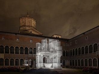 Инсталляция Эдоардо Тресольди в Равенне