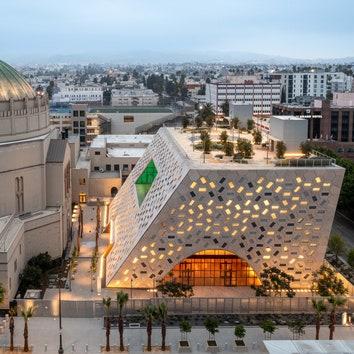 Павильон Одри Ирмас по проекту OMA в Лос-Анджелесе