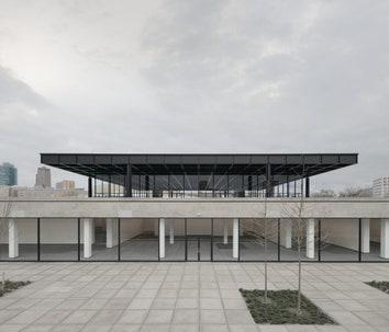 В Берлине после реконструкции откроется Новая национальная галерея