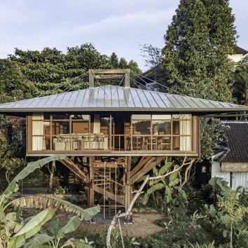 Дом над землей в Убуде