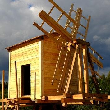 В Карелии воссоздали мельницу XIX века