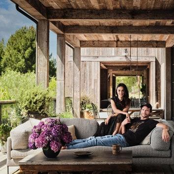 В гостях у Эштона Катчера и Милы Кунис в экологичном доме в Лос-Анджелесе