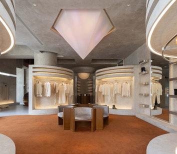 Модный бутик в Ханчжоу