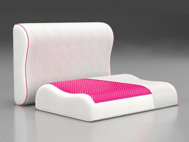Ecogel      Memory Foam.   Contour Pink 6490 .