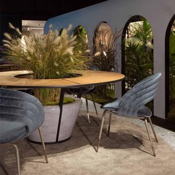 Как оформить элегантную гостиную и террасу: подбираем мебель для эффектного интерьера