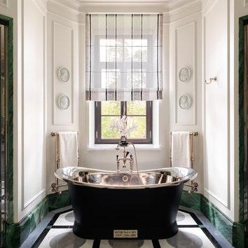 Ванная комната с окном: 15 примеров в частном доме и квартире