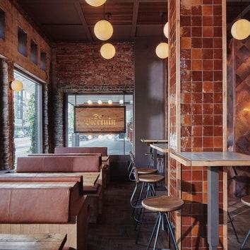 Пивная в Амстердаме от студии Modijefsky