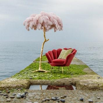 Мебель в природном ландшафте: фотосессия That's Living