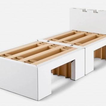 Кровати из переработанного картона для Олимпийских игр 2021