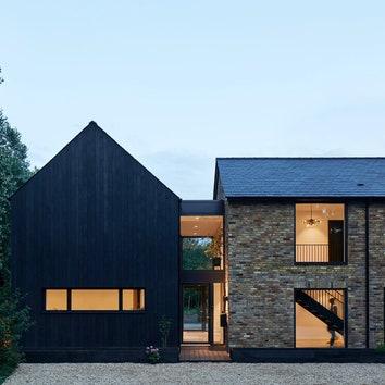 Реконструированный дом 1970-х годов в Бакингемшире