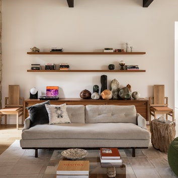 Дом с элементами mid-century modern в Калифорнии