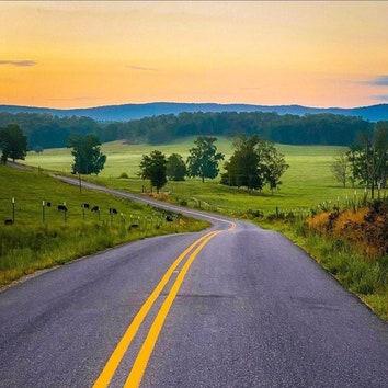 Вдохновение на неделю: манящие дорожные путешествия