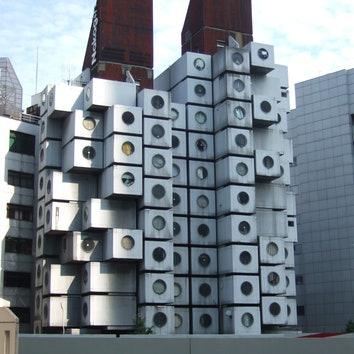 В Токио разберут капсульную башню Накагин