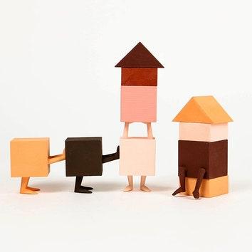Конструктор для детей по дизайну Казуя Вашайо