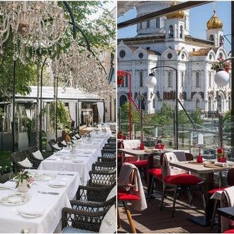 Летние веранды Москвы: 12 вариантов с красивым интерьером и вкусной едой