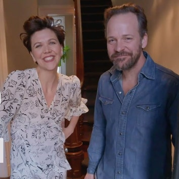 AD Видео: в гостях у Мэгги Джилленхол и Питера Сарсгаарда