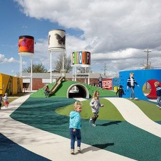 Railyard: красочный семейный парк в Арканзасе