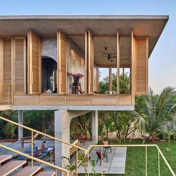 Дом без стен в Индии