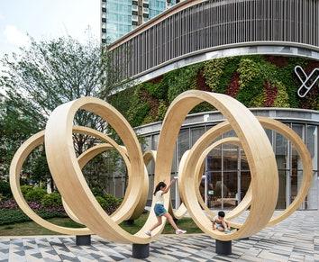 Time Loop: новый арт-объект в Гонконге