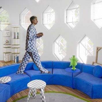 Какими бы могли быть интерьеры дома Мельникова: 3D-проект Гарри Нуриева