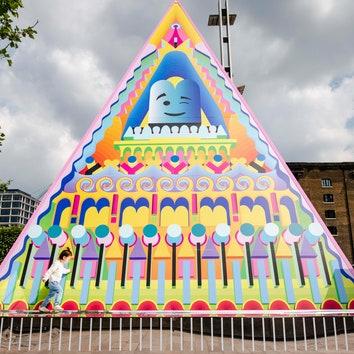 """""""Монументальная и жизнерадостная"""" пирамида Адама Натаниэля Фурмана в Лондоне"""