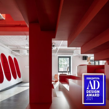 Победитель AD Design Award 2021: школа креативных технологий TUMO в Москве