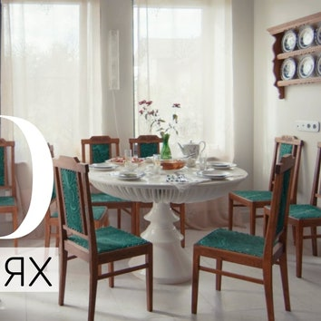 В гостях у дизайнера Аллы Шумейко: дом с большой коллекцией винтажной мебели