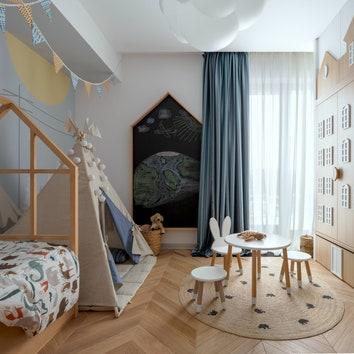 Лучшее — детям: как оформить идеальную комнату для ребенка