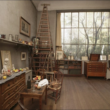 От Сезанна до Херста: 16 художников и их мастерские