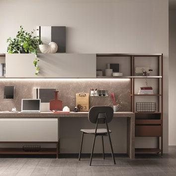 Создаем универсальный интерьер в едином стиле: мебельная система, объединяющая разные зоны