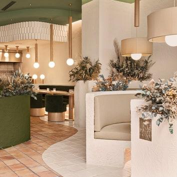 Ресторан, вдохновленный горами и парками, от Masquespacio