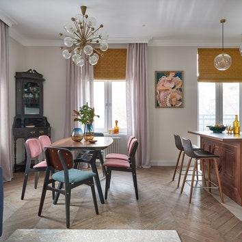 Квартира по проекту Нади Зотовой, 96 м²