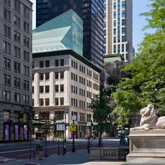Библиотека фонда Ставроса Ниархоса в Нью-Йорке