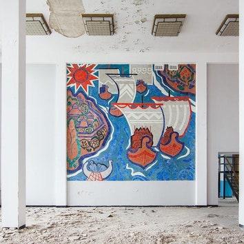 Паблик недели: красочные полотна со всего мира в группе #mosaic / #fresco