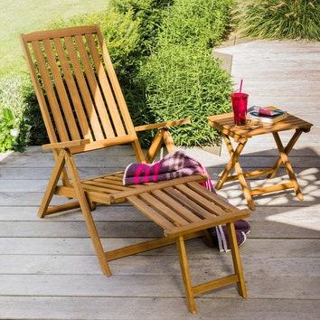Загородная жизнь: 10 удобных шезлонгов для отдыха