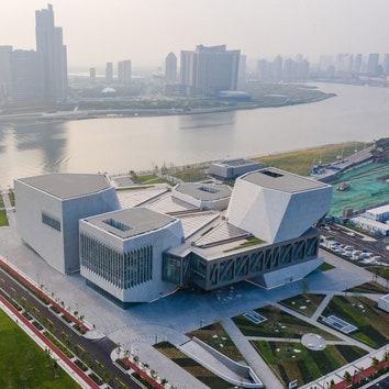 Тяньцзиньская Джульярдская школа по проекту бюро Diller Scofidio + Renfro