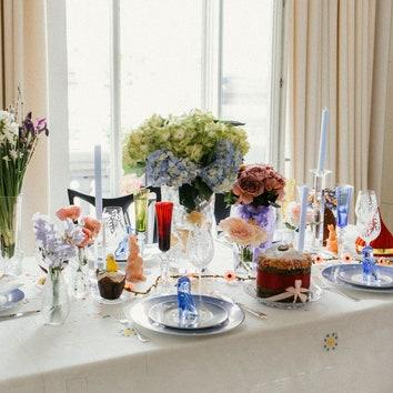 Как сервировать стол на Пасху: идеи для праздничного стола от Татьяны Рогаченко