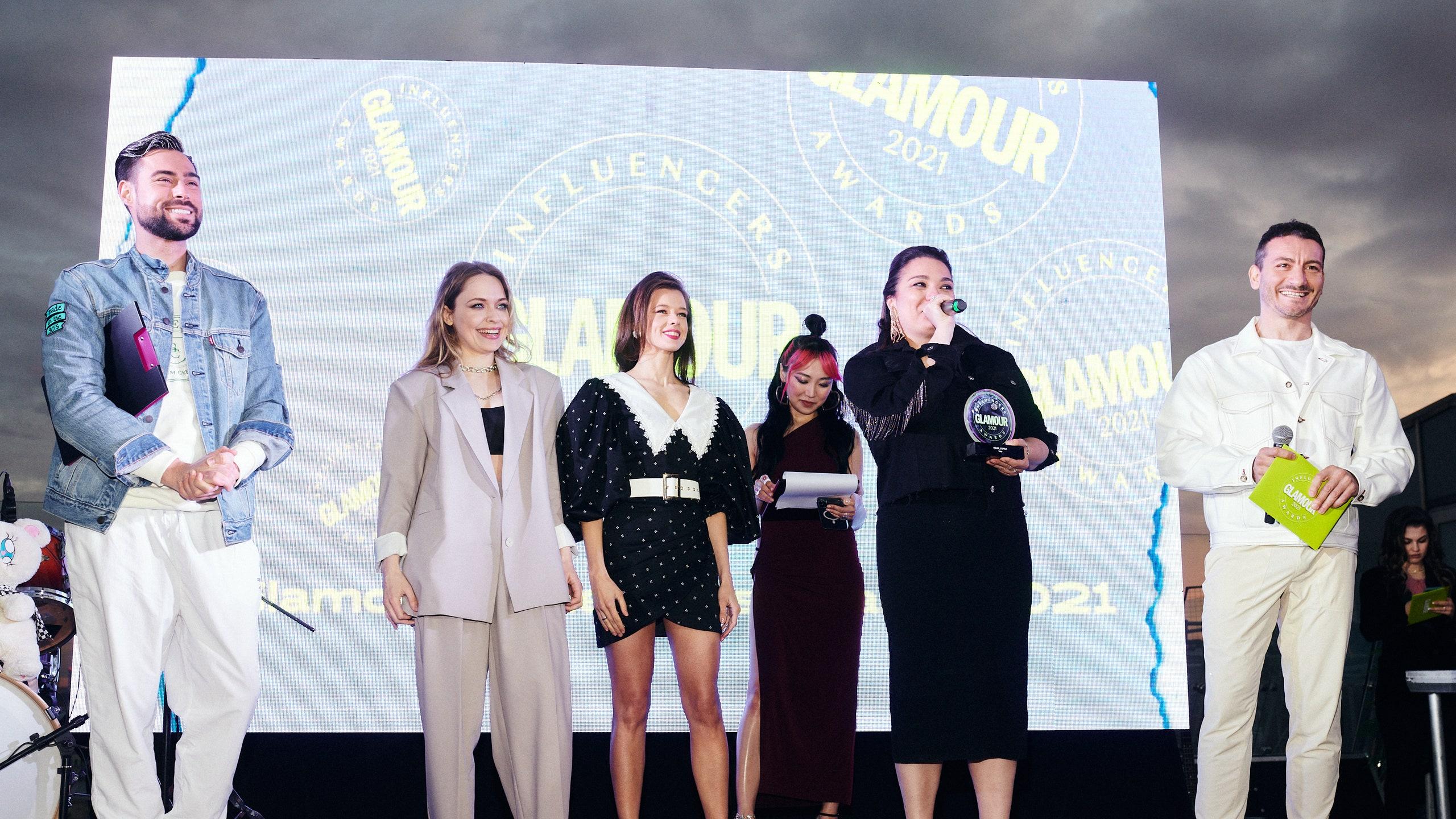 Glamour Influencers Awards 2021