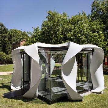 Мобильный конференц-зал от Zaha Hadid Architects на Венецианской архитектурной биеннале