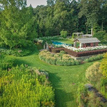 Эклектичный сад в Коннектикуте