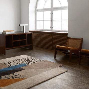 Абстрактные ковры в стиле шведского ар-деко
