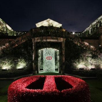Новая коллекция ювелирных украшений Dior Rose