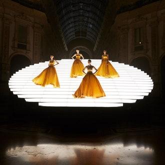 Показ новой коллекции высокого ювелирного искусства Magnifica от Bvlgari в Галерее Виктора Эммануила II