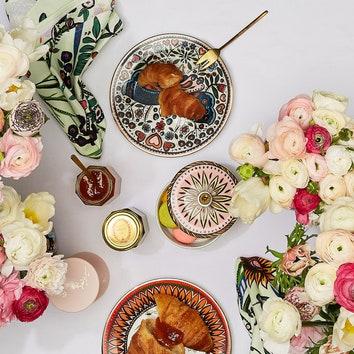 Коллекция посуды и текстиля для кухни от La DoubleJ и кондитерской Ladurée