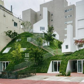 Реконструкция отеля в Маэбаси по проекту Су Фудзимото