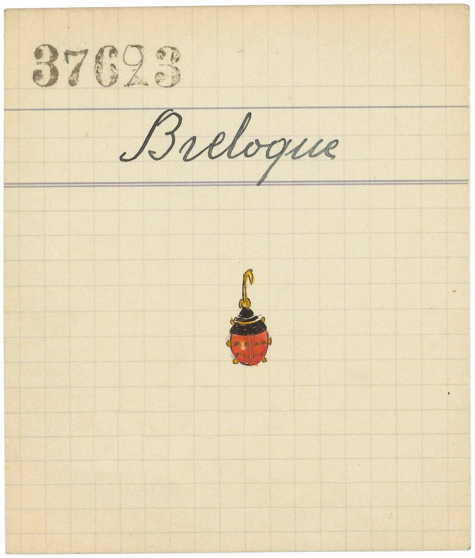 Ladybug 1933    Van Cleef amp Arpels.